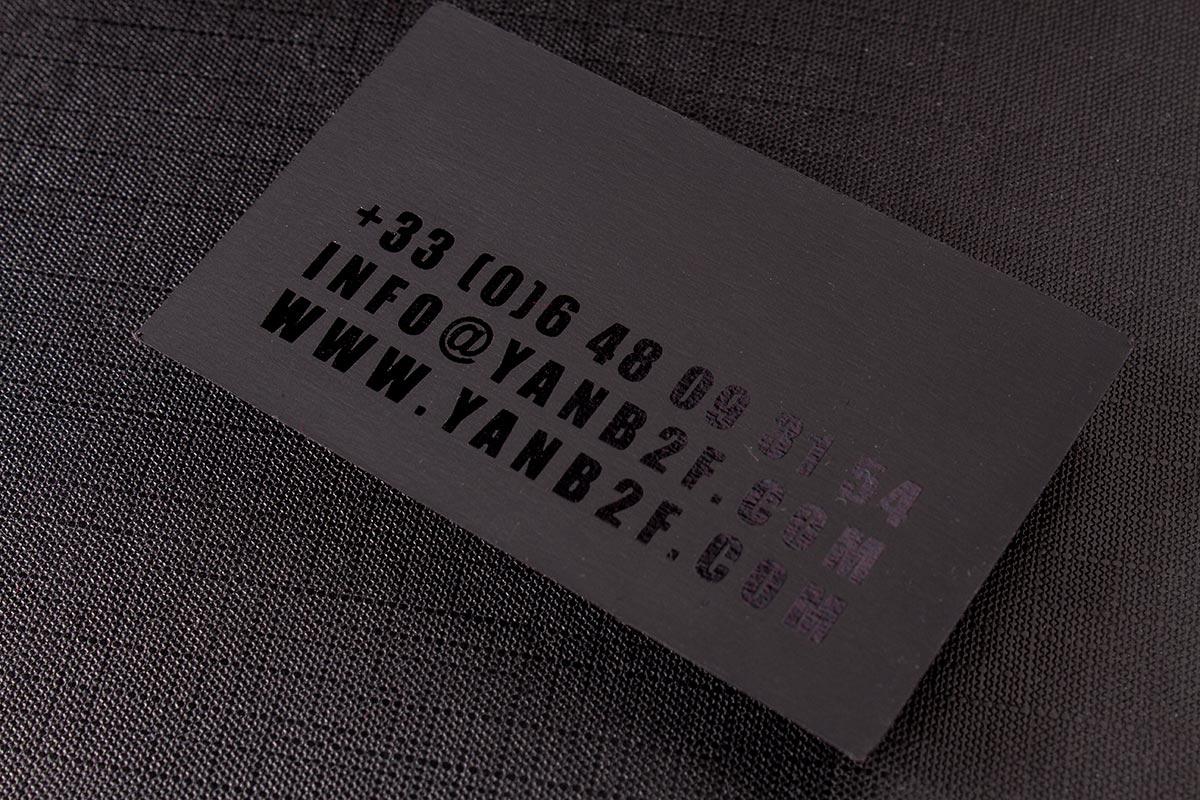 2-sided Spot UV Business Cards