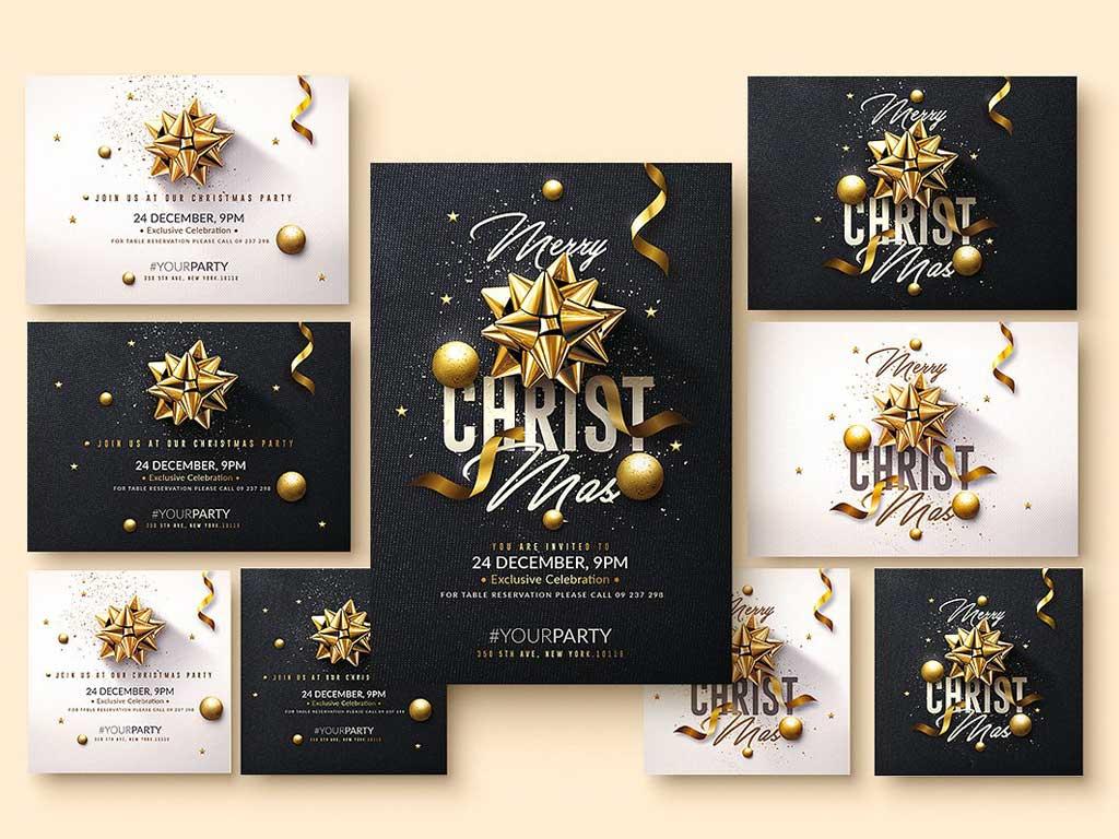 Christmas Flyers Corporate | Luxury Printing