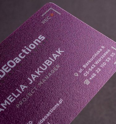 Clear Plastic Business Cards | Luxury Printing