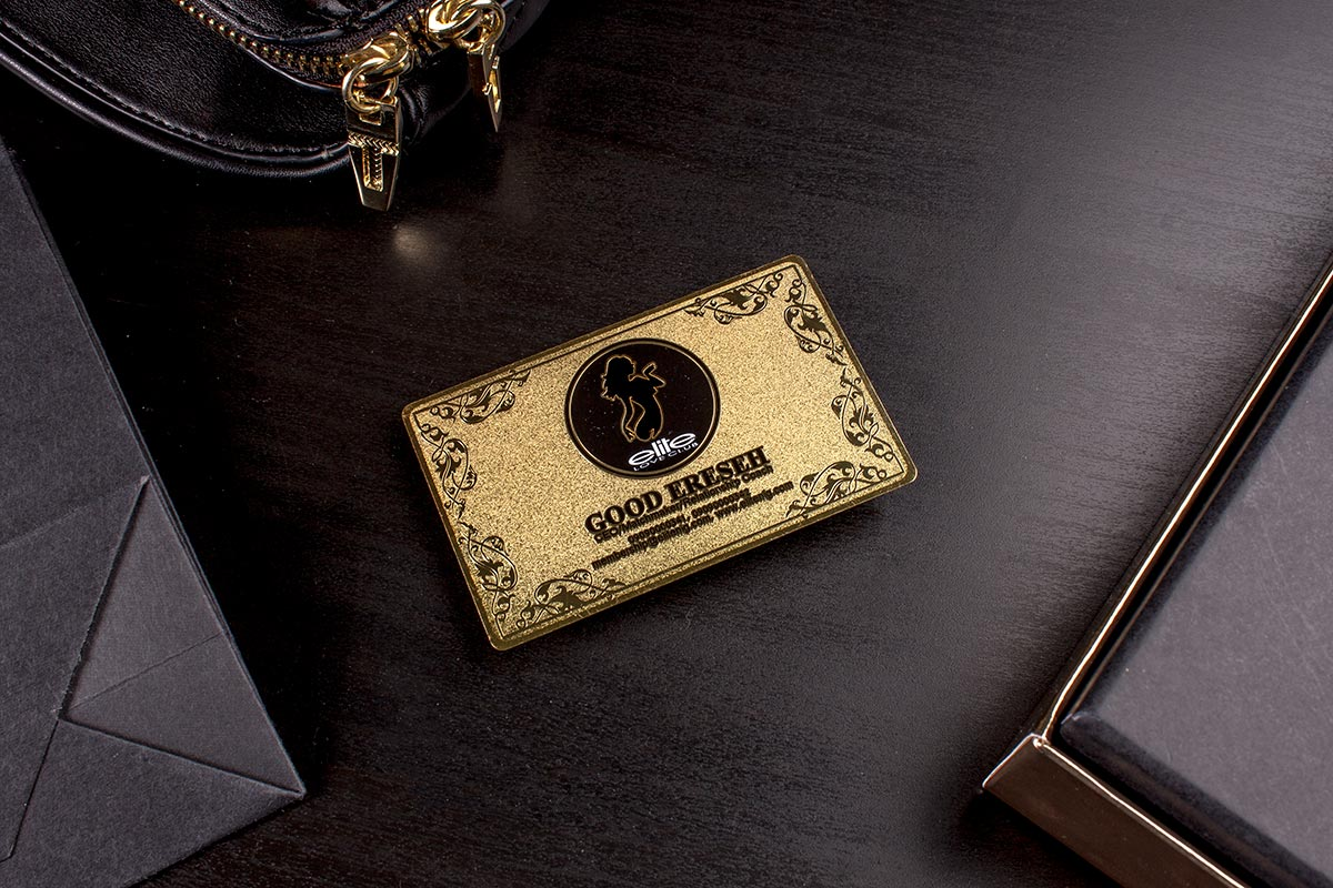 Gold Luxury Business Card 3.5x2   Luxury Printing